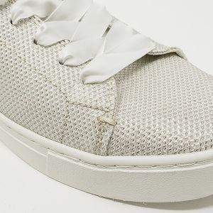 15c2ec8b1 Toms Shoes | New Ivory Glitter Mesh Lenox Sneakers 85 | Poshmark